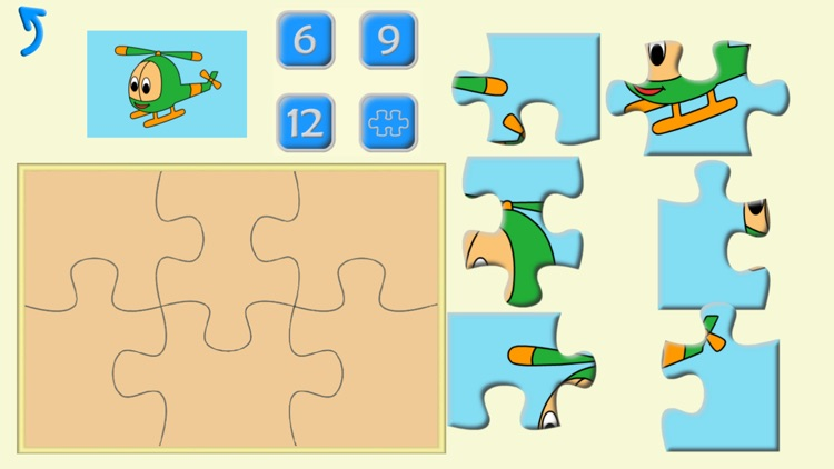 Kids Preschool Puzzles, learning shapes & numbers screenshot-4