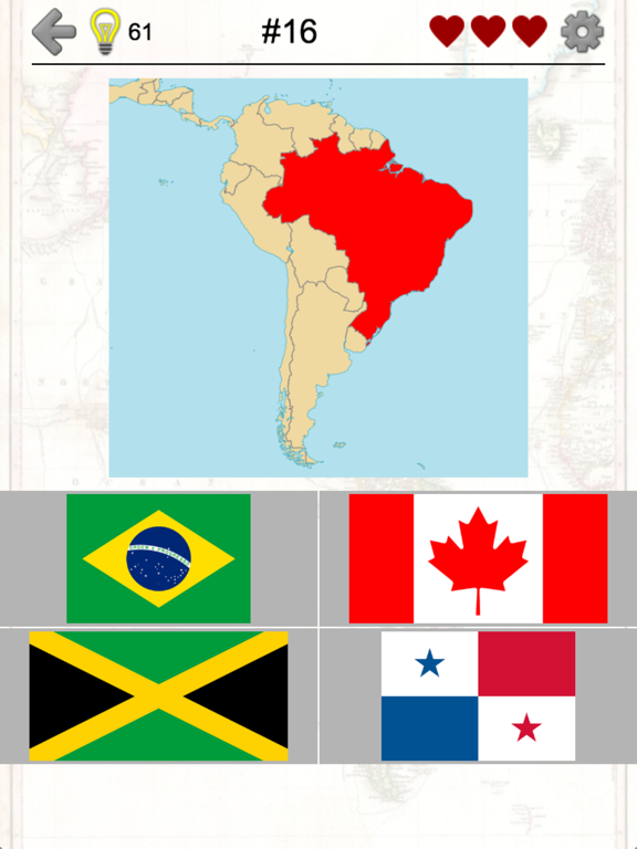 Caribbean Countries Map Quiz on