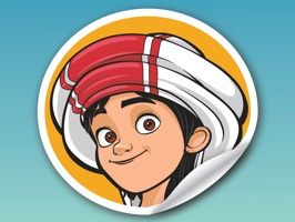 You can now express yourself with stickers of your favorite characters from the Emirati cartoon, Mansour