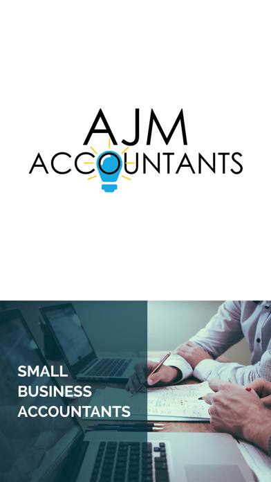 AJM Accountants screenshot one