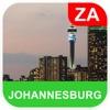 ヨハネスフルク、南アフリカ オフラインマッフ - PLACE STARS