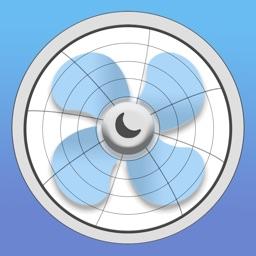 Sleep Aid Fan - White Noise Background Fan Sounds
