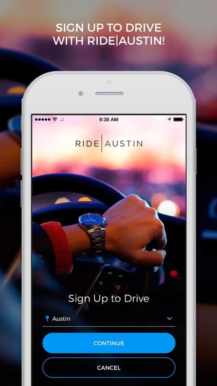 Ride Austin Non-Profit TNC screenshot-4