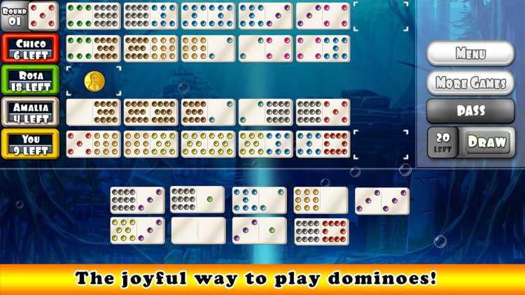 Mexican Train Dominoes Gold (Dominos)