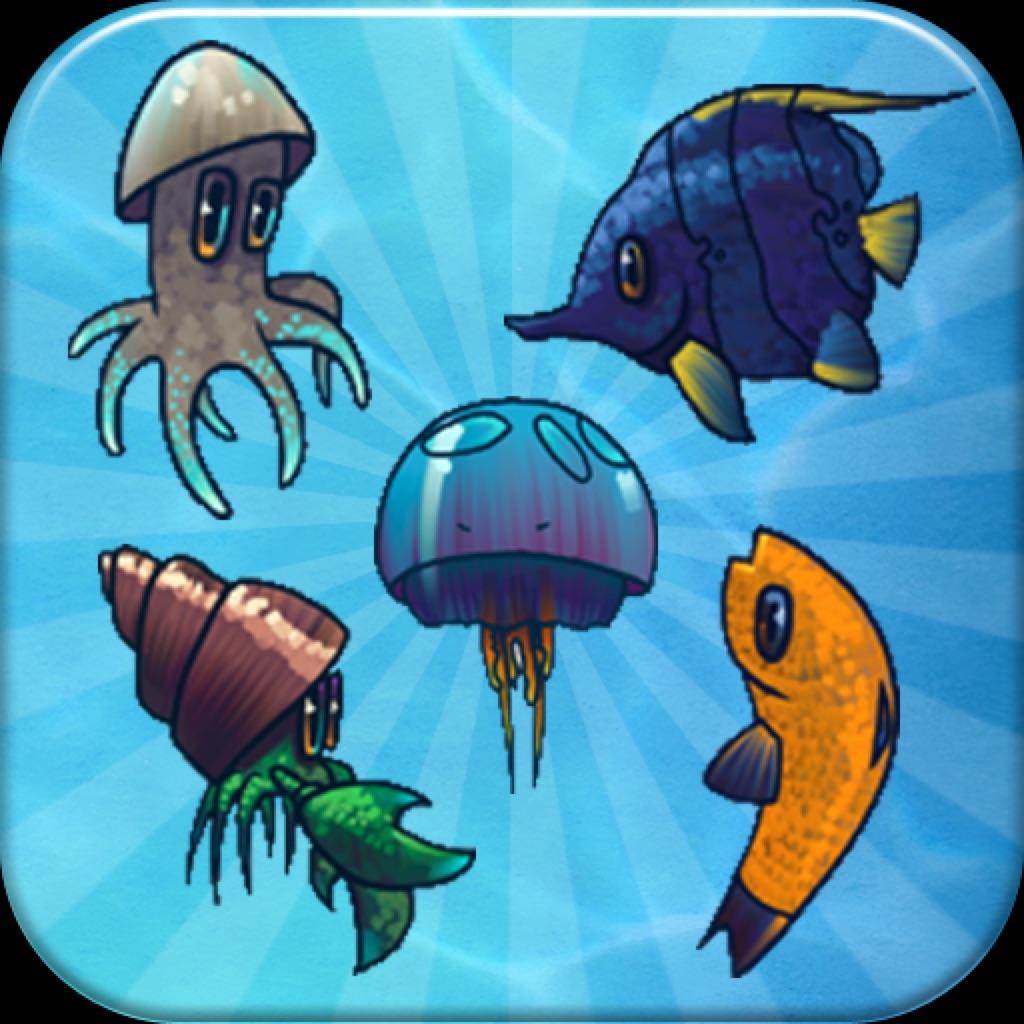 Aquarium Pairs - Play match sweet fish jam game! hack