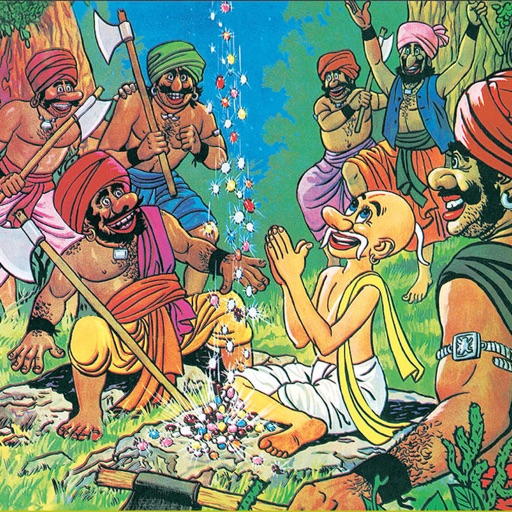 Jataka Tales-The Magic Chant -  Amar Chitra Katha