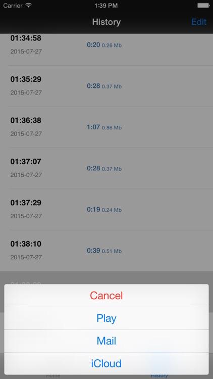 MP3 Voice Recorder screenshot-3
