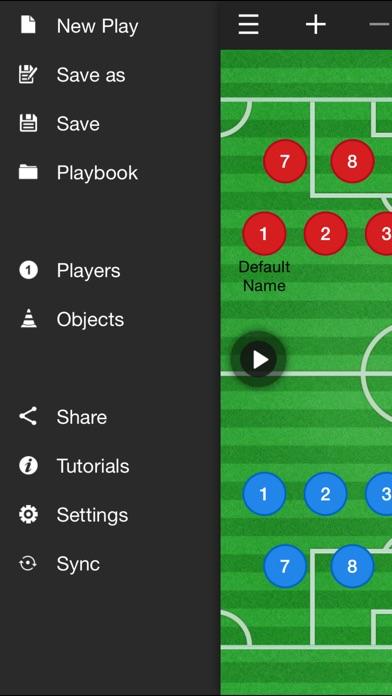 サッカーコーチのクリップボード screenshot1