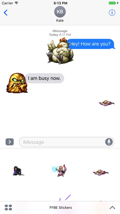 FFBE Stickers screenshot-3