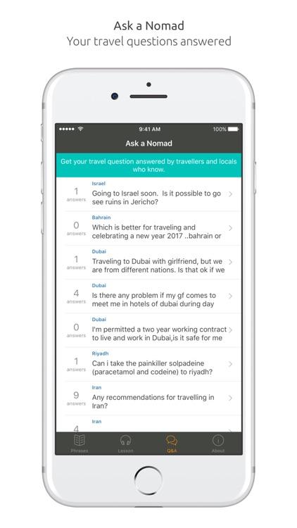 Arabic Language Guide & Audio - World Nomads screenshot-4