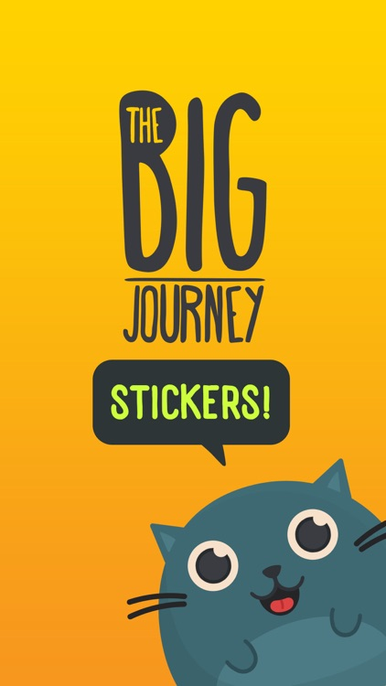 The Big Journey Stickers