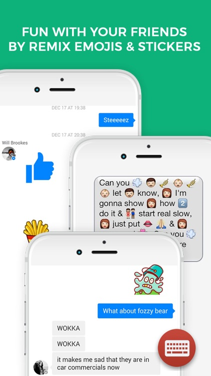 Emojis & Stickers for Keyboard, iMessage & More screenshot-4