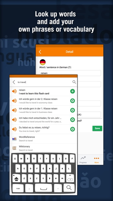 Learn German - MosaLingua Screenshots