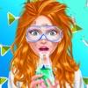 Dream Job: Science Girl Beauty Makeover Salon Game