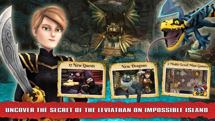 School of Dragons: How to Train Your Dragon screenshot-0