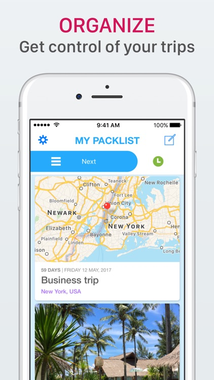 Packlist - Organize your trips screenshot-0