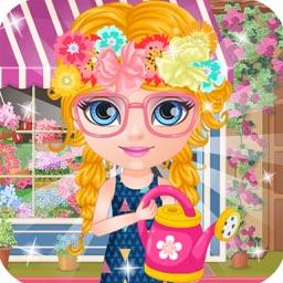 Flower Shop Girl - Games for girls free