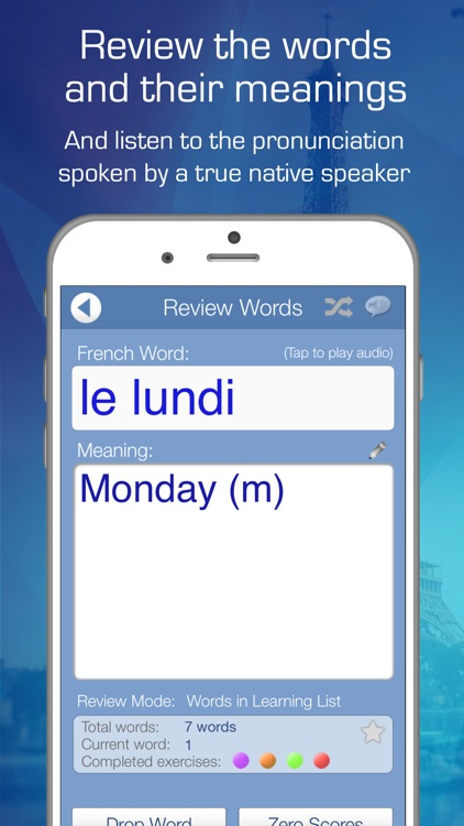 Learn French Audio FlashCards