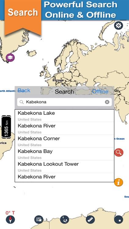 Mantrap Kabekona & Paul Bunyan lake and park trail screenshot-3