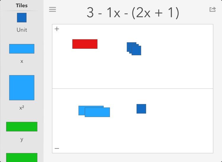 Algebra Tiles: Visualize Math screenshot-4