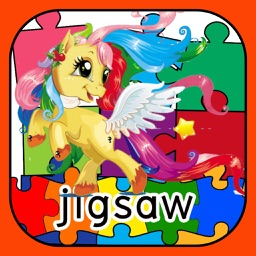 Princess Horse Jigsaw Puzzle Skill GameFor Toddler