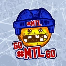 Old Time Hockey Mojis - #MTL