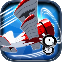 Ace Stunt Pilot Air Patrol - Fly Once and Retry Airplane Game