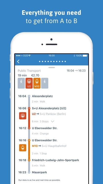 ally mobility app: your city route planner