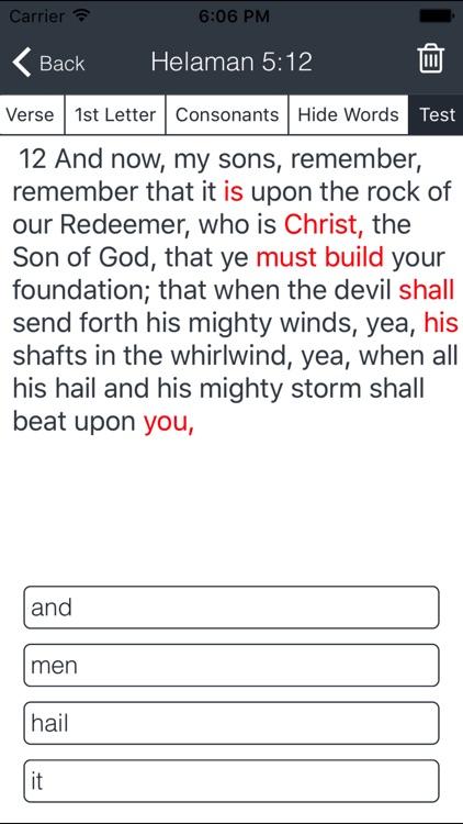 LDS Scripture Power Memorization screenshot-3