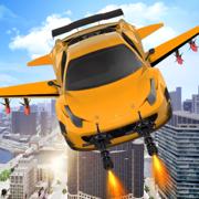 飞行 汽车 战争 模拟器 : 机器人 驾驶 游戏