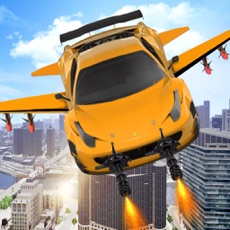 Activities of Flying Car War Simulator: Robot Driving Games