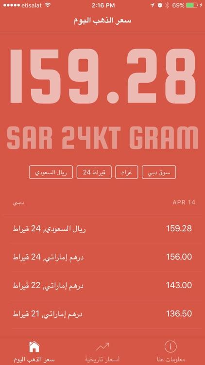 Gold Price in Saudi Arabia أسعار الذهب في السعودية screenshot-3