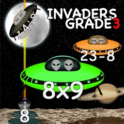 Arithmetic Invaders: Grade 3 Math Facts