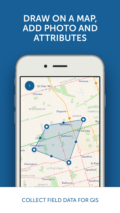 MapTiler GeoEditor by Klokan Technologies (iOS, United