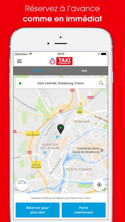 Taxistrass app image
