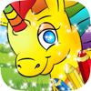 Pony Färbung Bücher: Malerei Kinder Spiele