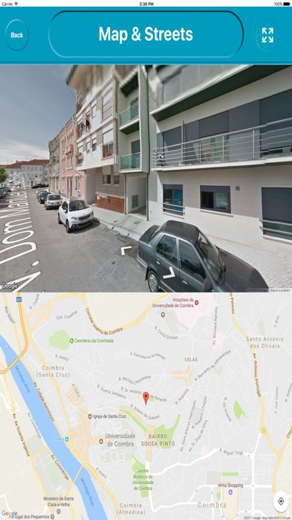 Coimbra Portugal Offline City Maps Navigation screenshot-3