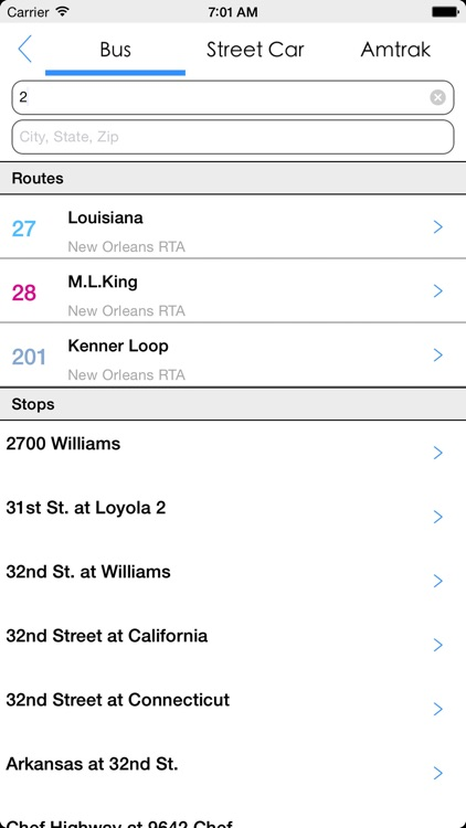 Transit Tracker - New Orleans screenshot-4