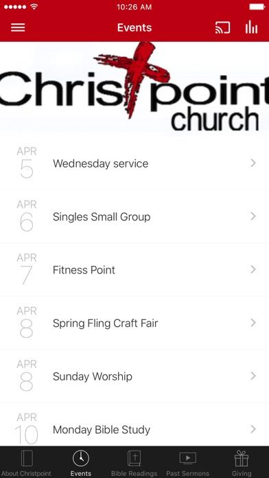 Christpoint Church of TN screenshot 2