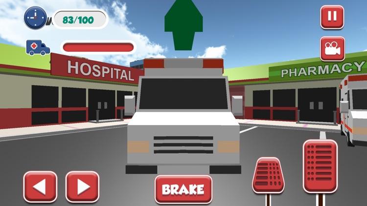 Ambulance Rescue City 3D: Emergency Driving Doctor screenshot-3
