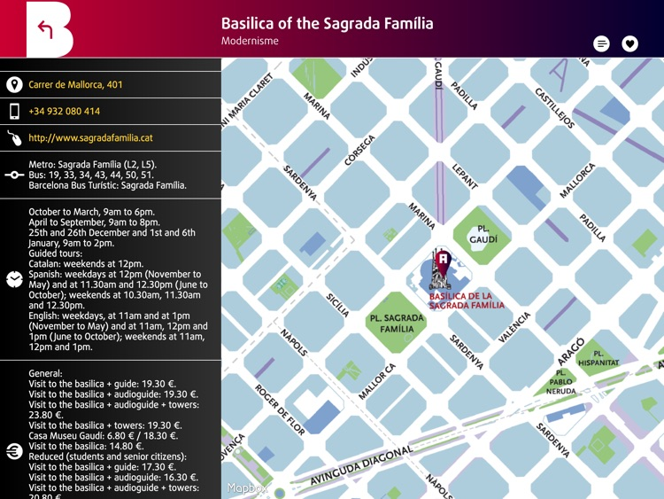 Barcelona Official Guide iPad. The city of Gaudí screenshot-4