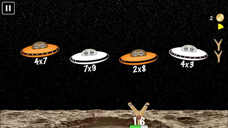 Arithmetic Invaders: Grade 3 Math Facts screenshot-3