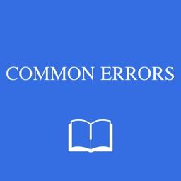 Dictionary of Common Errors