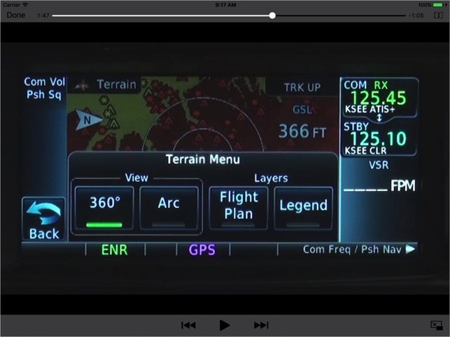 Flying the Garmin GTN650/750 on the App Store