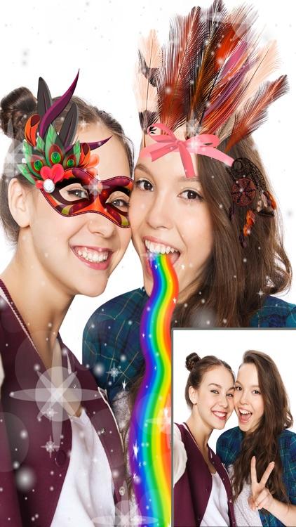 Sticker carnival face filters - Pro screenshot-3