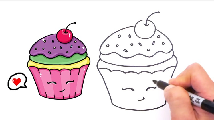 Draw So Cute Games Cup A Cake