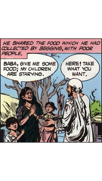 Tales of Saibaba (Shirdi Saint)- Amar Chitra Katha screenshot-3