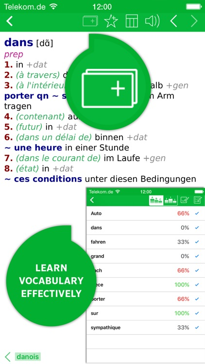 Dictionary French - German BASIC by PONS screenshot-4