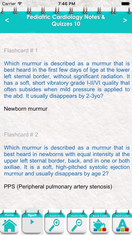 Pediatric Cardiology Review 4200 Flashcards & Quiz screenshot-4