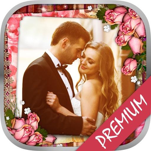Romantic wedding photo frames & album editor – Pro